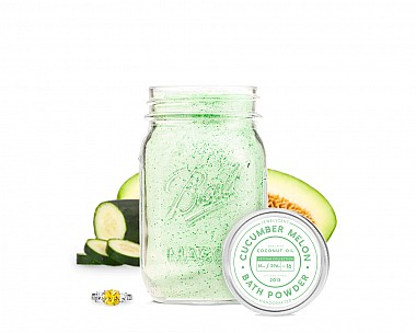 Cucumber Melon Jewelry Bath Powder