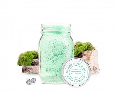Spanish Moss & Oak Jewelry Bath Powder