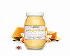 Vanilla Honey Almond Jewelry Bubble Bath Powder