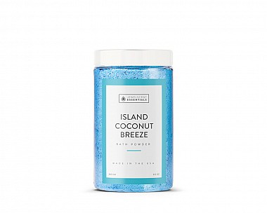 Essentials Island Coconut Breeze Bath Powder