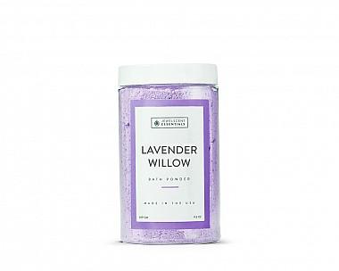 Essentials Lavender Willow Bath Powder