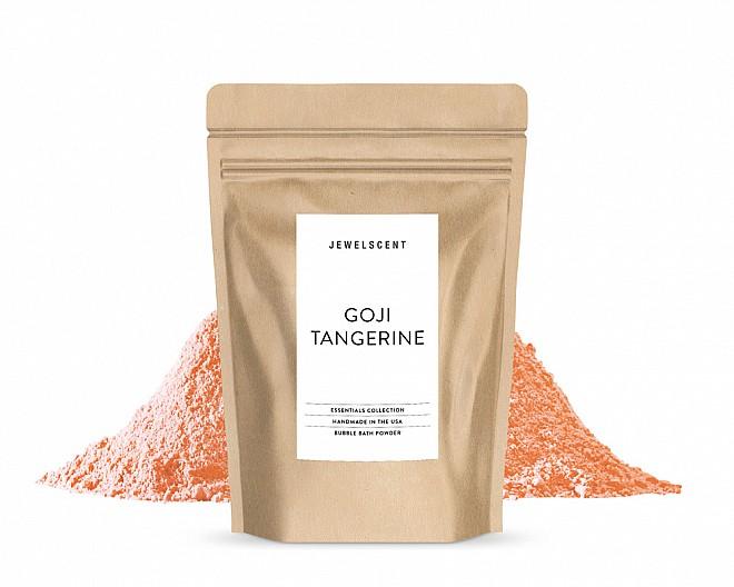 Essentials Goji Tangerine Bubble Bath Powder Pouch