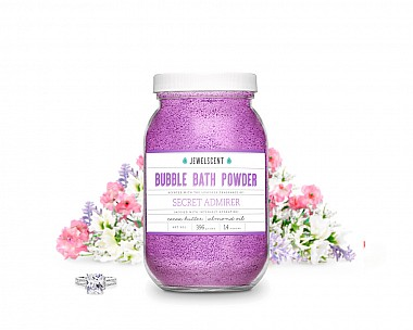 Secret Admirer Jewelry Bubble Bath Powder