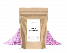 Essentials White Plumeria Bubble Bath Powder Pouch