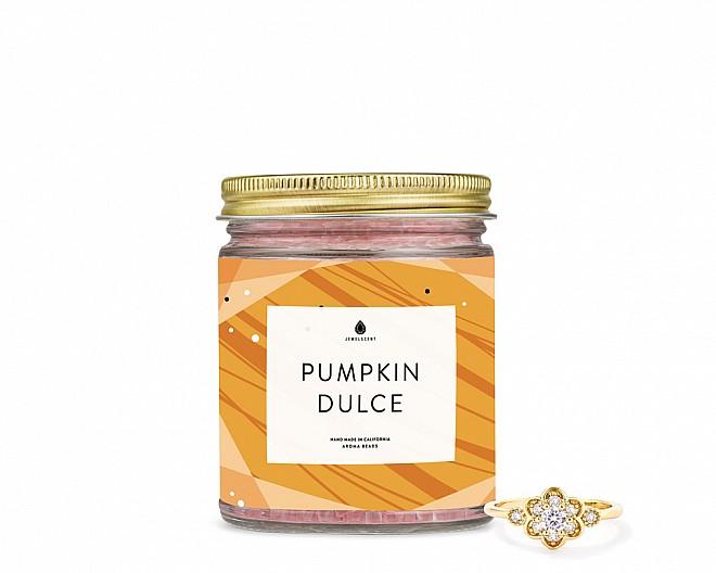 Pumpkin Dulce Jewelry Ring Aroma Beads