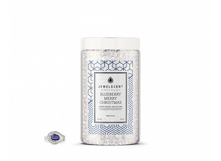 Blueberry Merry Christmas Jewelry Aroma Beads