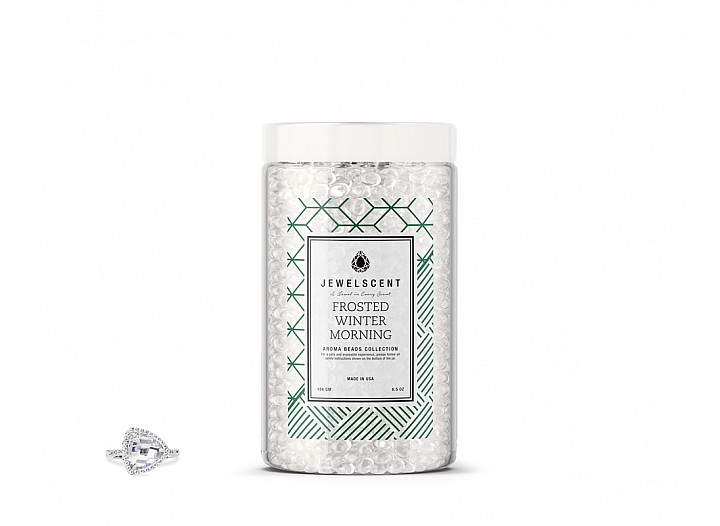 Frosted Winter Morning Jewelry Aroma Beads