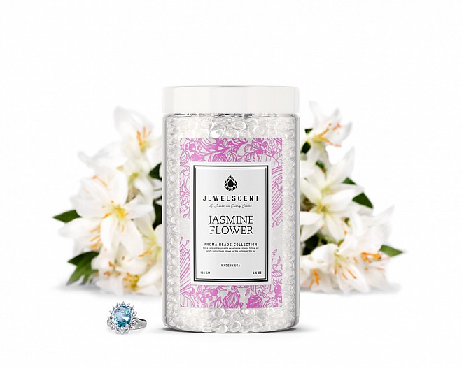 Jasmine Flower Jewelry Aroma Beads