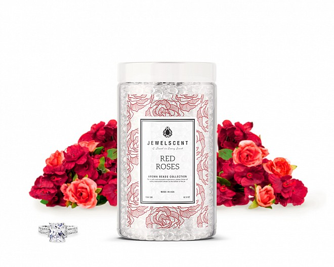 Red Roses Jewelry Aroma Beads