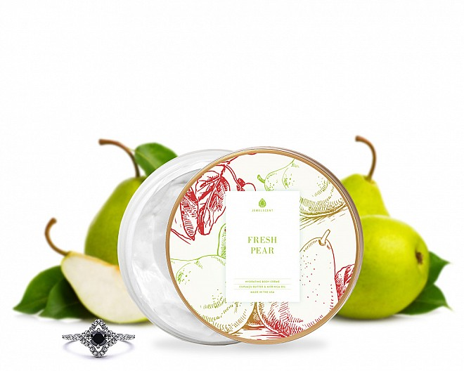 Fresh Pear Jewelry Body Crème