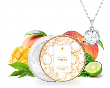 Sungold Apricot Jewelry Necklace Body Crème