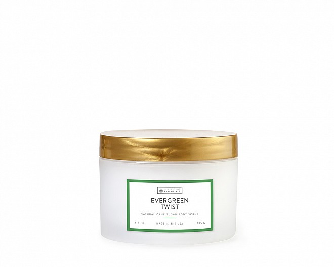 Essentials Evergreen Twist Body Scrub