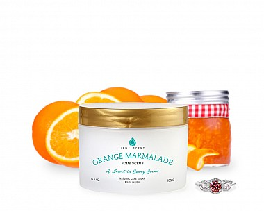 Orange Marmalade Jewelry Body Scrub