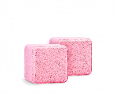 Essentials Crisp Cranberry Bubble Bath Cubes