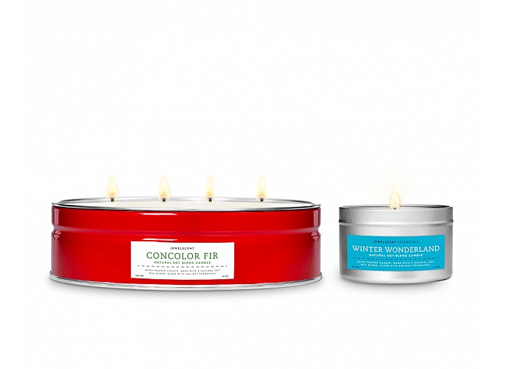 Concolor Fir Luxe Tin Jewelry Candle