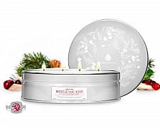 Mistletoe Kiss Luxe Tin Jewelry Candle