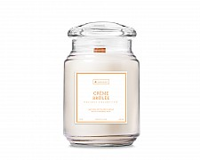 Essentials Creme Brulee Large Wood Wick Candle