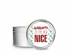 Essentials Naughty is the New Nice Tin Candle
