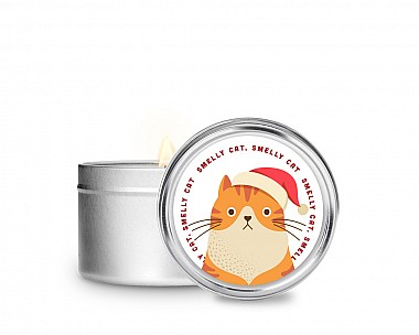 Essentials Smelly Cat Tin Candle