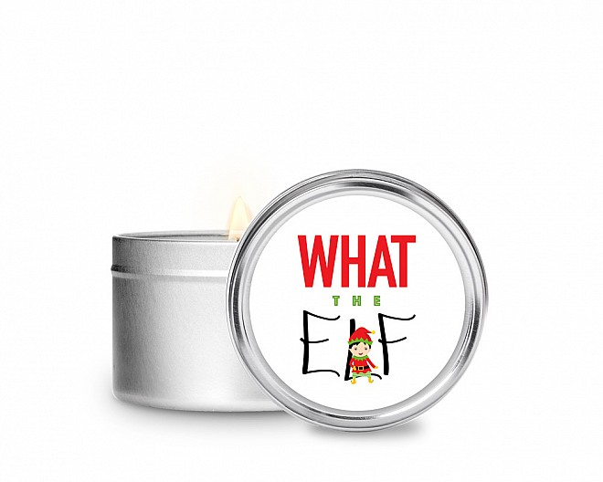 Essentials What the Elf Tin Candle