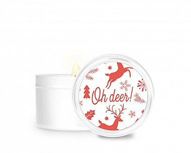 Essentials Oh Deer Tin Candle