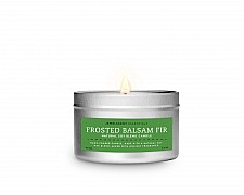 Frosted Balsam Fir Tin Essentials Candle