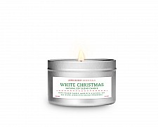 White Christmas Tin Essentials Candle