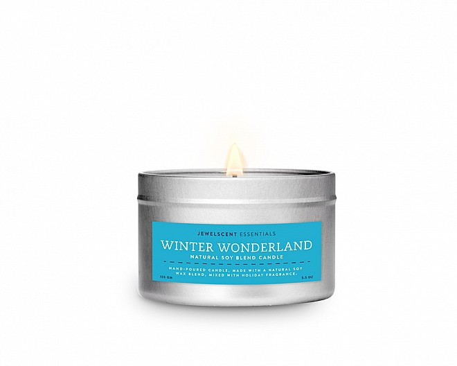 Winter Wonderland Tin Essentials Candle