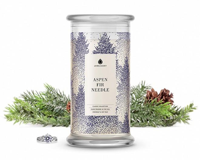 Aspen Fir Needle Classic Jewelry Candle