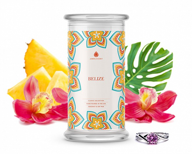 Belize Classic Jewelry Candle