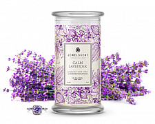 Calm Lavender Jewelry 16oz Candle