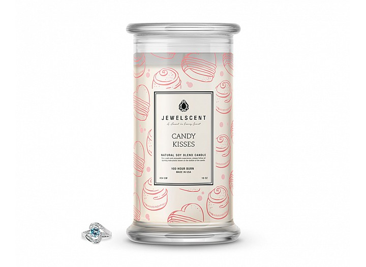 Candy Kisses Classic Jewelry Candle