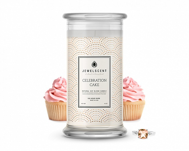 Celebration Cake Classic Jewelry Candle