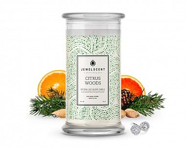 Citrus Woods Jewelry Candle