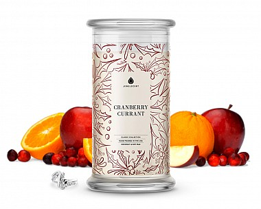 Cranberry Currant Classic Jewelry Candle