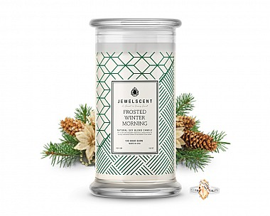 Frosted Winter Morning Classic Jewelry Candle