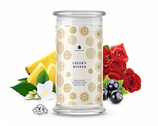 Golden Winter Classic Jewelry 16oz Candle