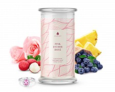Pink Lychee Rose Classic Jewelry Candle