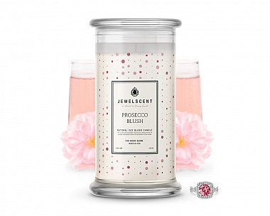 Prosecco Blush Classic Jewelry Candle
