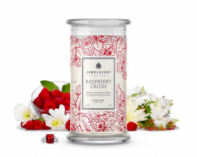 Raspberry Crush Jewelry Candle