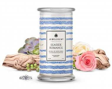 Seaside Romance Jewelry Candle