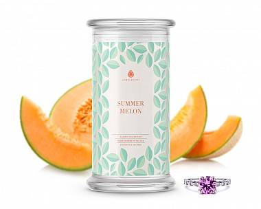Summer Melon Classic Jewelry Candle