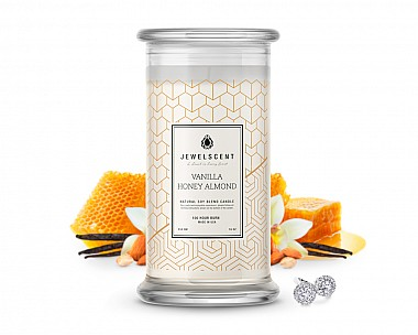 Vanilla Honey Almond Classic Jewelry Candle