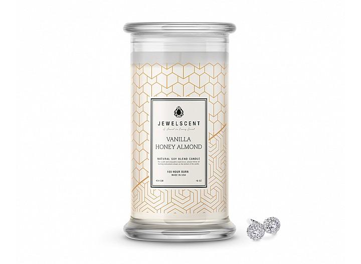 Vanilla Honey Almond Classic Jewelry Candle