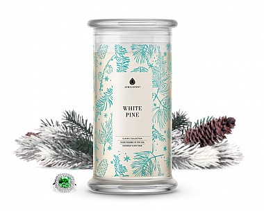 White Pine Classic Jewelry Candle