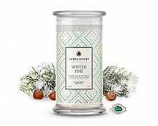 Winter Pine Jewelry Candle