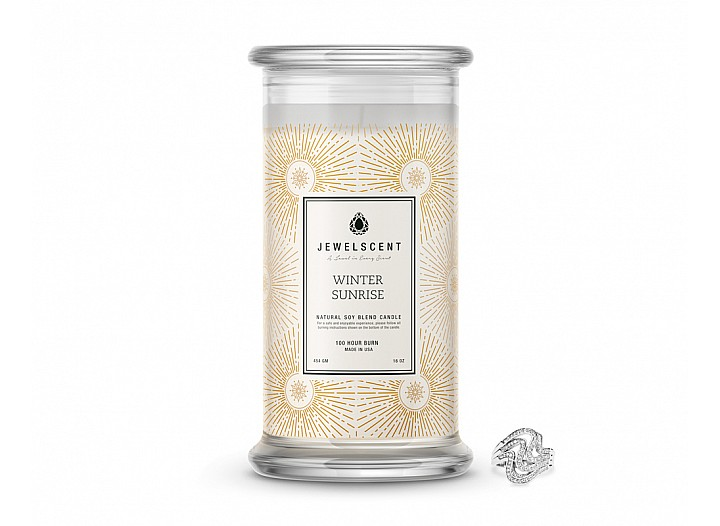 Winter Sunrise Classic Jewelry Candle