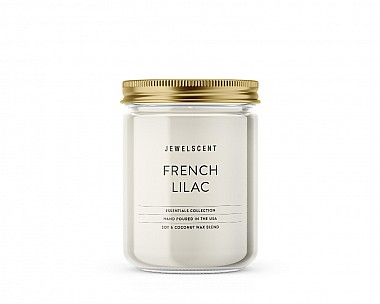 Essentials Jar French Lilac Candle