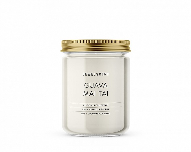 Essentials Jar Guava Mai Tai Candle