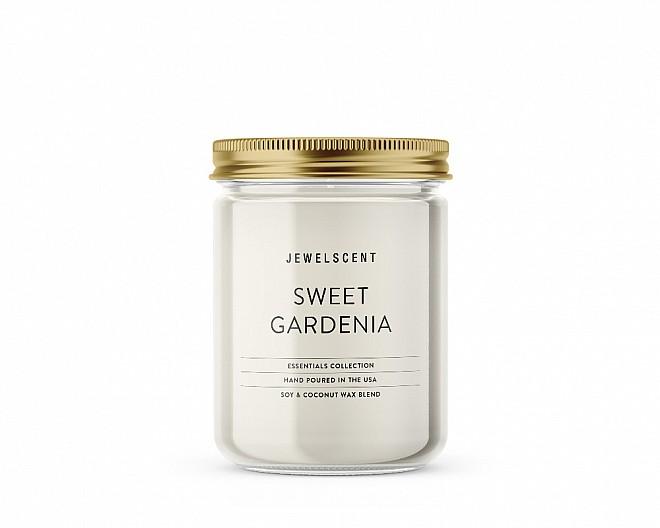 Essentials Jar Sweet Gardenia Candle